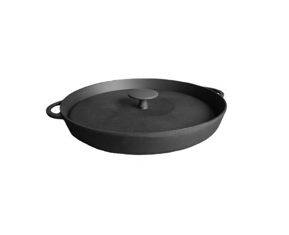 Сковорода гриль с прессом d=260 мм, h=40 мм