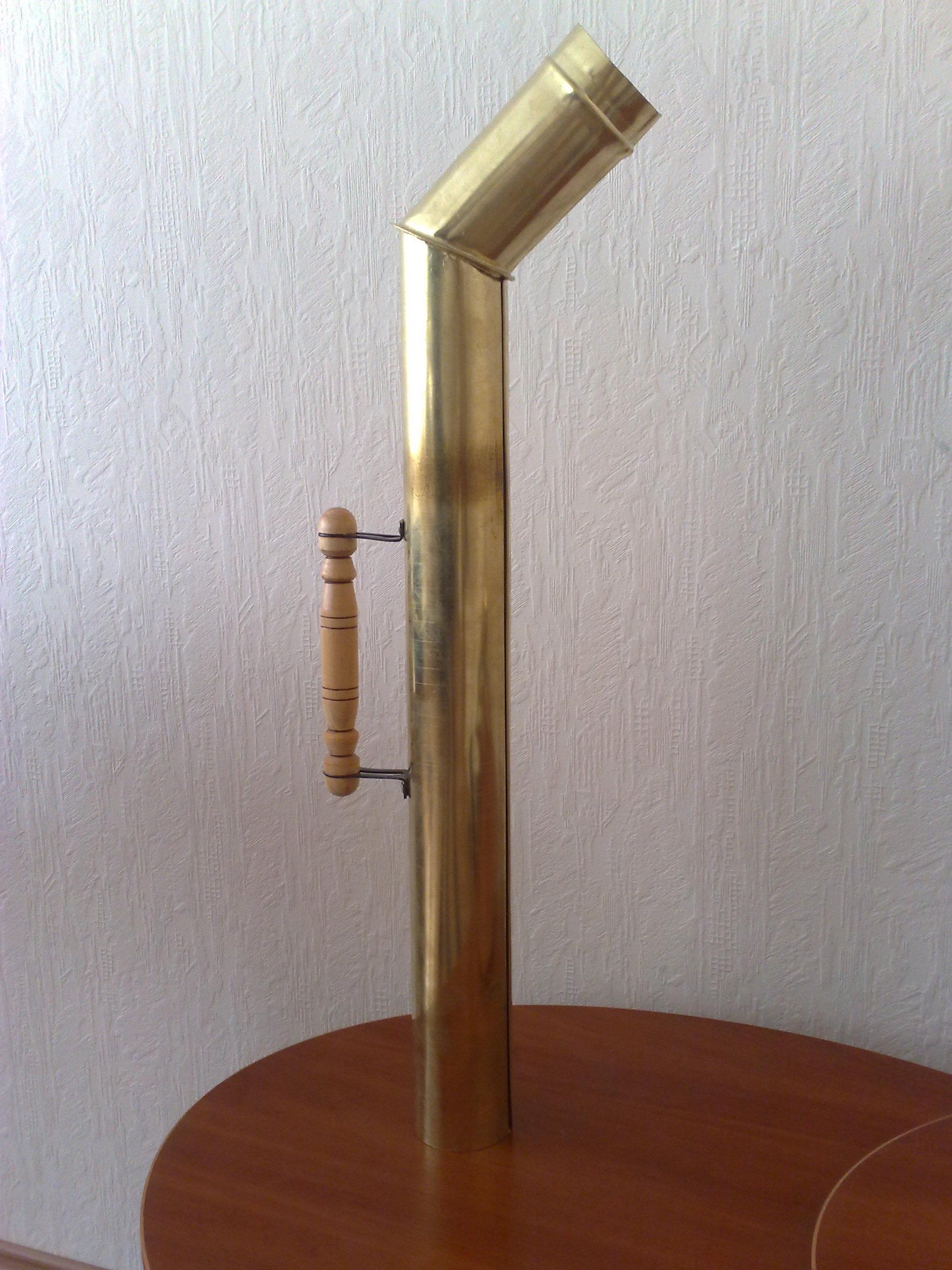 Труба для самовара 80, 85, 90, 95, 100 мм (Латунь)