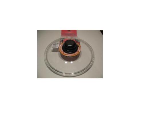 Крышка стеклянная, низкая d=260 мм
